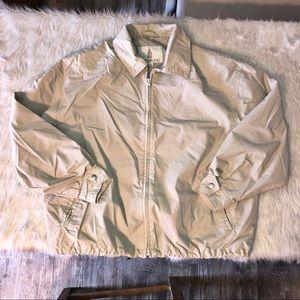London fog cream jacket medium